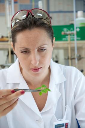 Female Researcher